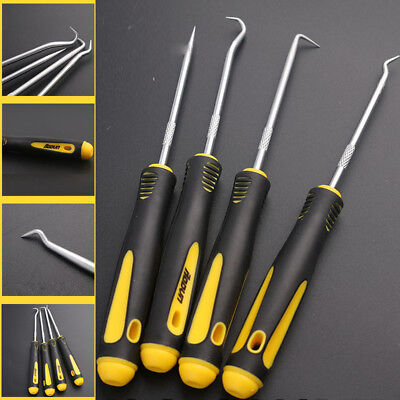 4Pcs 1Set Durable Car Hook Oil Seal O-Ring Seal Remover Pick Set Craft Hand Tool