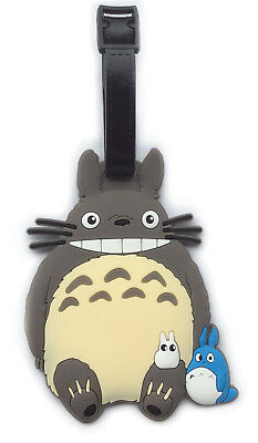 TOTORO Rubber Travel Luggage Suitcase School Bag Name Address ID Card Holder Tag