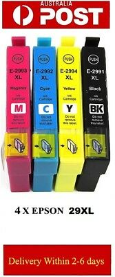 4 Epson Generic 29XL 29 XL Ink Cartridges for Expression XP 235 332 335 432 435