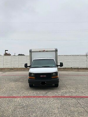 GMC 2012 1 Ton Van w/16' Box VERY CLEAN