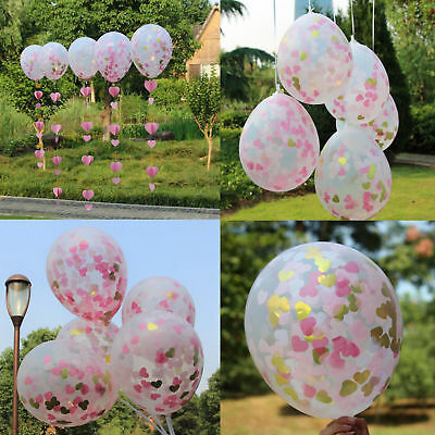 20pcs Colorful Confetti Balloon Birthday Wedding Valentine Party Latex Balloons
