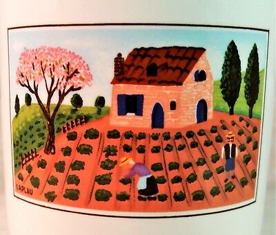 Villeroy & Boch Luxembourg Design Naif Farmer Cup Container Holder