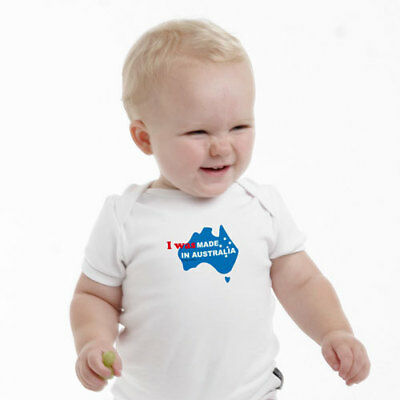 NEW I was made in Australia baby romper by Hoity Toity
