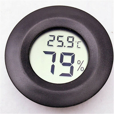 Hot Portable Indoor LCD Hygrometer Humidity Thermometer Round Temperature Meter