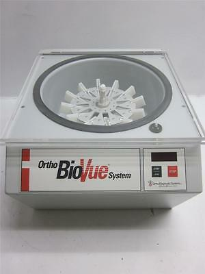 Ortho BioVue System Clinical Diagnostics 01-BV-1055 Lab Centrifuge Cell Mixer