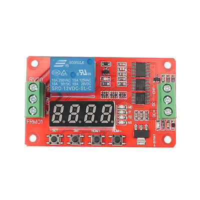 Multifunctional Relay Module PLC Loop Delay Timer Self-Lock Home Automation
