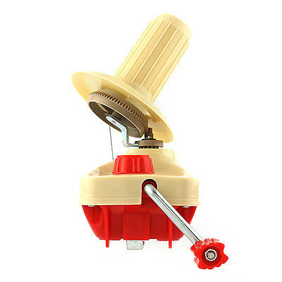 Portable Hand Operated Yarn Fiber Wool String Ball Thread Winder Machine Kit