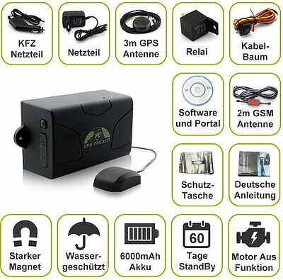 gps tracker live ortung per handy peilsender 6 monate ohne. Black Bedroom Furniture Sets. Home Design Ideas