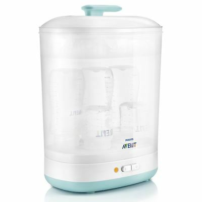 Philips AVENT 2-in-1 Electric Steam Steriliser for Baby Bottle & Teats SCF922/01