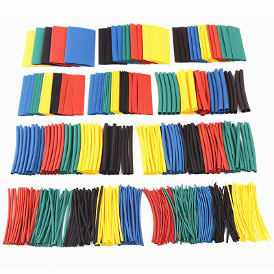 410 pcs Heat Shrink Tubing Tube Assortment Wire Cable Insulation Sleeving Kit