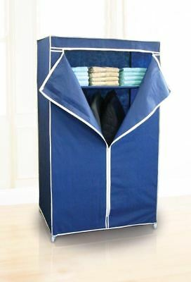 Country Club Space Saving Wardrobe Storage Blue
