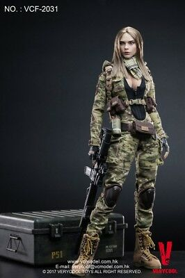 VERYCOOL Boots MC CAMO WOMEN SOLDIER VILLA 1//6 ACTION FIGURE TOYS dam vts did
