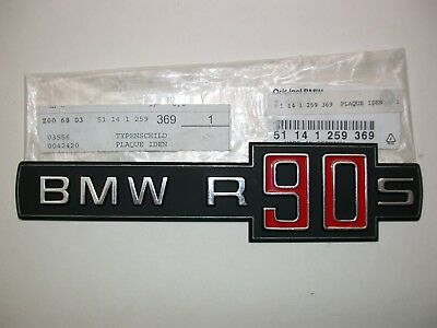 Typenschild R 90 S BMW original
