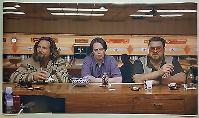 "The Big Lebowski GIANT WIDE 24""x 42"" Movie Poster Print Bar Eats You Bowling"