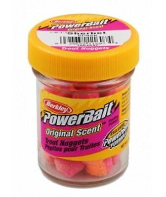 Berkley Powerbait Trout Bait Nuggets SHERBET 50g New