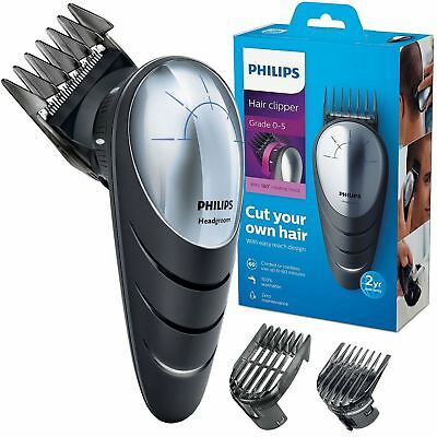 Philips Do-It-Yourself DIY Hair Clipper with 180 Degree Easy Reach Rotating Head