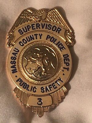 Obsolete NC PD full size badge