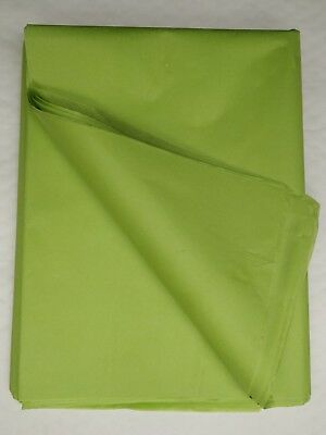 LIGHT GREEN ACID FREE LUXURY QUALITY TISSUE PAPER 750mm x 500mm SHEETS 18 GSM