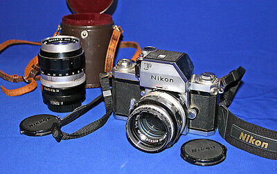 Nikon F With Additional Lens