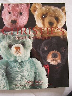 Catalogue Vente Christie's Teddy Bears 9 Decembre 2003 Ours Nounours