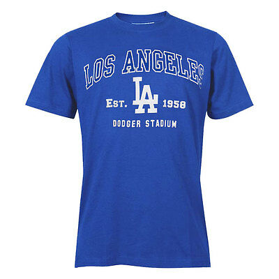 """LA Dodgers Officially Licenced MLB Est. 1958 T Shirt Small - chest 36-38"""""""