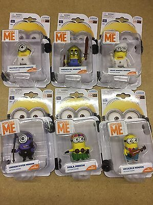 Despicable Me Minion Action Figures Brand New In Package