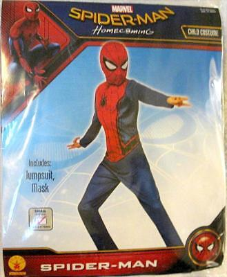 Rubies Spiderman Homecoming Costume Child's Boys Kids 3-4 Years Small Size 4 - 6