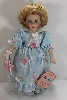 Porcelain Doll, Handmade Hand-Painted, Vanessa Ricardi Collection, Original Tags