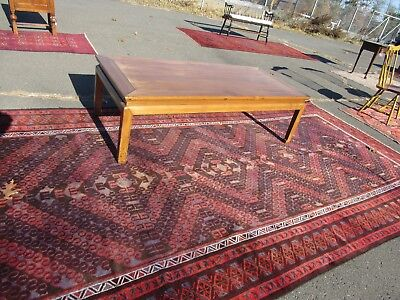 "Asian coffee table / day bed 66"" by 29"", 20"" tall rare"