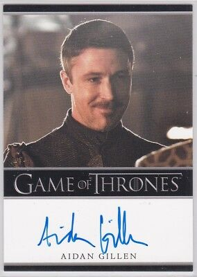 Game Of Thrones Season 2 Aidan Gillen As Petyr Baelish Autograph Limited