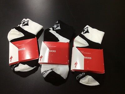 """LOT OF 3 PAIRS Specialized RBX Comp Low 2"""" Women's Cycling Socks S 5-7 36-39"""