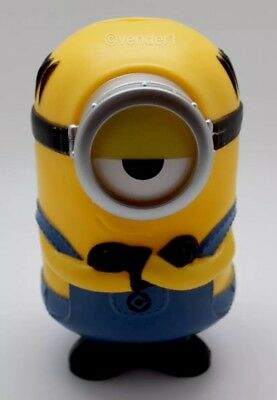Despicable Me Minions Theater Cup Piggy Bank Collectible Stuart NEW