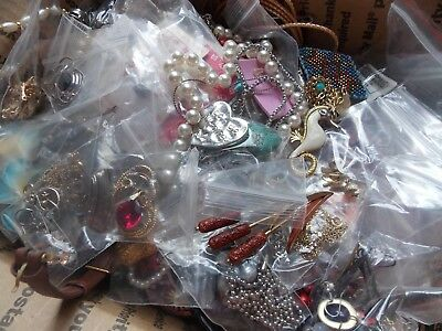 Large Lot of Vintage to Now jewelry ( approx 10 lbs) some need repair