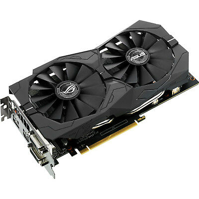 ASUS GeForce GTX1050 Strix OC 2GB GDDR5 Grafikkarte DisplayPort DVI HDMI Desktop