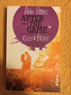 Abbi Glines , after the game , Riley &Brady
