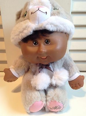 Cabbage Patch Small Kids Snugglies Grey KITTY CAT plush - cat costume
