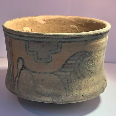 Extremely Rare Museum Quality Painted Ancient Indusvalley Terracotta Pots #690