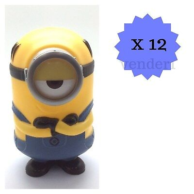 New 12ct Despicable Me Minions Piggy Bank Birthday Party Cup Collectible Stuart