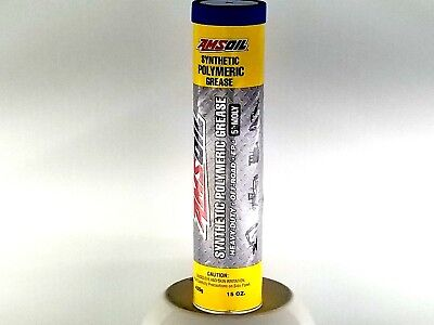 Amsoil - Synthetic Polymeric Off-Road Grease, NLGI #1 - 1 - 15oz. tube