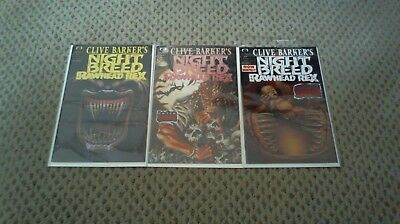 Night Breed (Clive Barker's) (1990) #13 14 15 Rawhead Rex Run 1992 /89/
