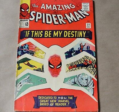 The Amazing Spider-Man #31 (Marvel, 1965) 1St Gwen Stacy