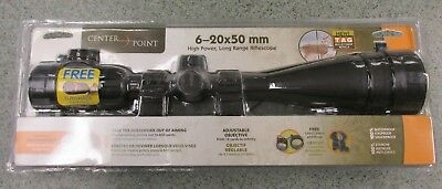 Centerpoint 6-20x50mm High Power, Long Range Rifle Scope