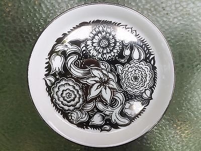 Vintage Wedgwood Bone China Pin Dish - Susie Cooper  'Silver Lustre'