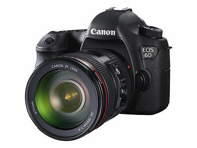 Refurbished Canon EOS 6D body only kit - Black