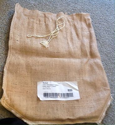 BURGERS SMOKEHOUSE Burlap Bag From Oven Ready Turkey 10-12 LB.