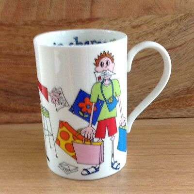 A Dunoon Mug - Girls in Charge - Designed by Jane Brookshaw