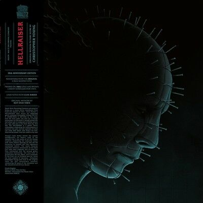 HELLRAISER - OST - 2LP / Black Vinyl - 2017 (Christopher Young) 30th Anniversary