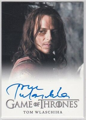 Game Of Thrones Season 2 Tom Wlaschiha As Jaqen H'ghar Autograph