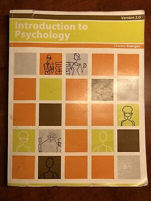 Introduction to Psychology by Charles Stangor (Paperback) Version 2.0