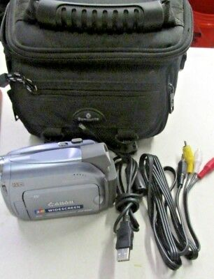 Canon ZR500 Mini DV Camcorder In Case Tested & Working